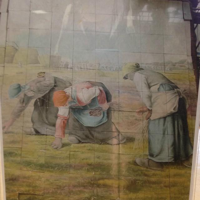 Inventory strada for Carrelage fresque
