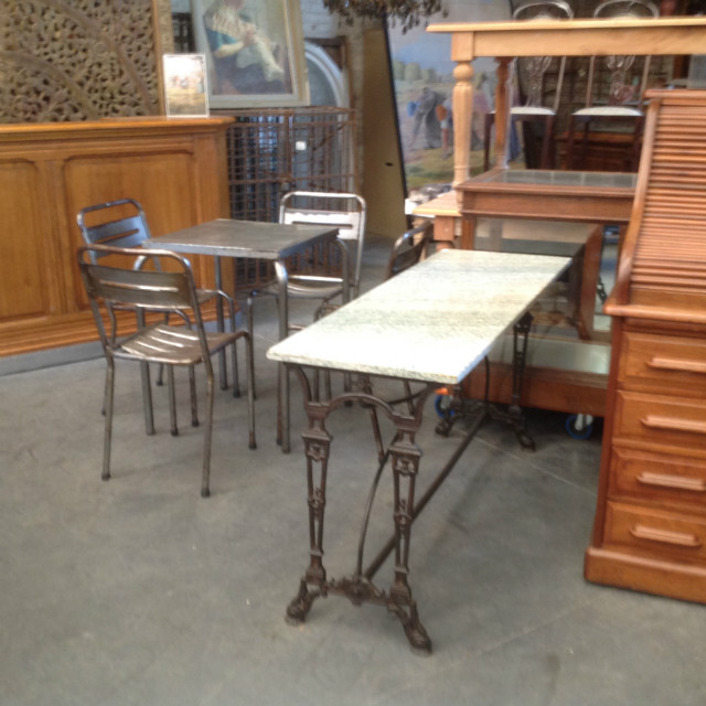 Inventory strada - Table bistrot ronde marbre ...